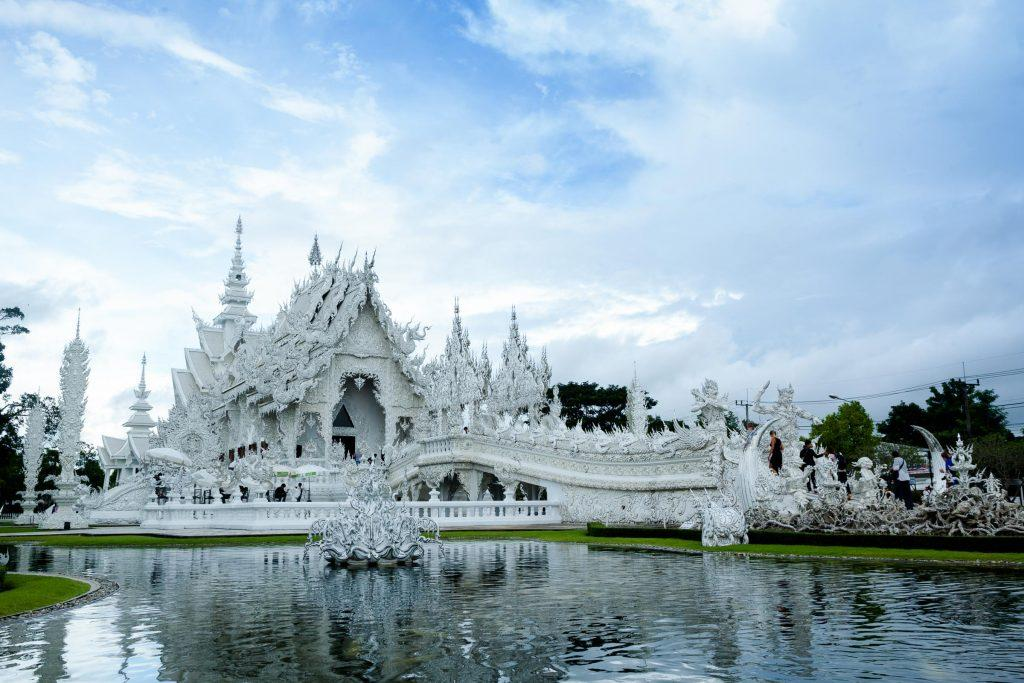 Magnificent Wat Rong Khun aka White Temple.
