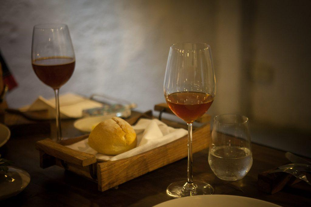 Fine dining calls for wine, cheese and bread/ Awesome shot by TAT Newsroom