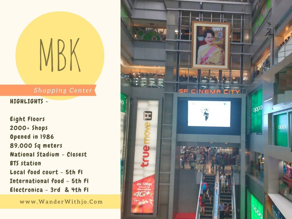 MBK Shopping Center Bangkok