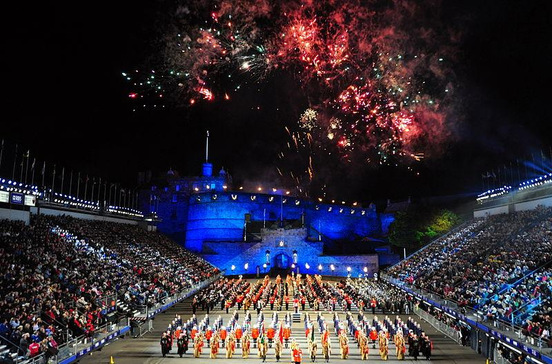 Edinburgh festival, Edinburgh, Europe