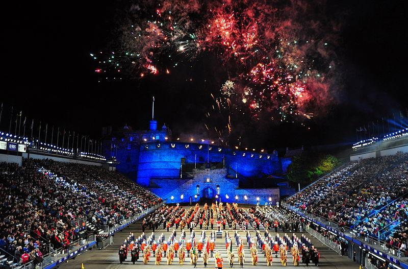 Edinburgh festival, Edinburgh, Europe