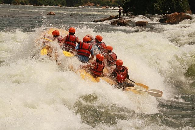 white water rafting in the nile