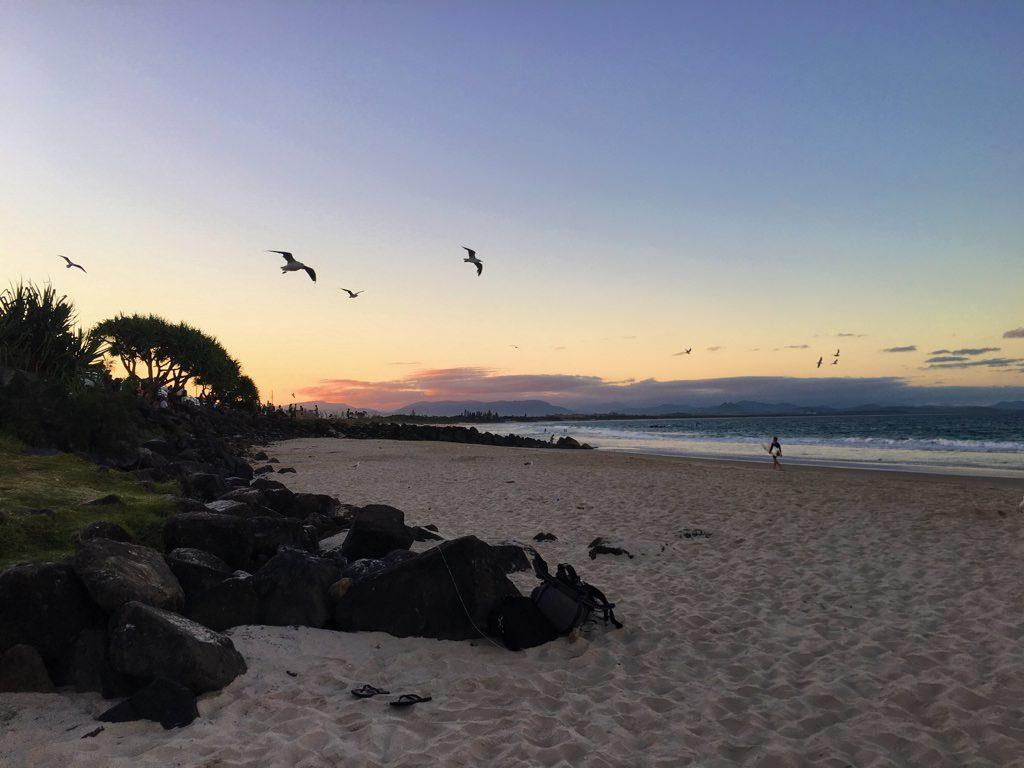 Byron Bay Australia Sunset