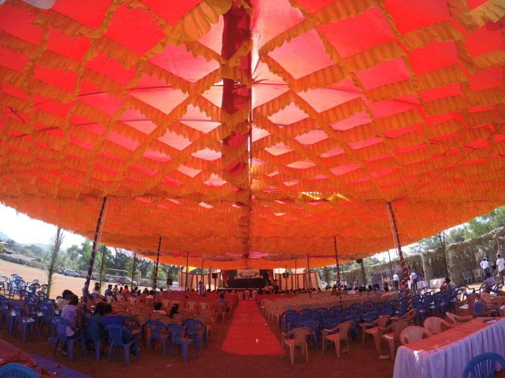 The Venue of the Goa Tribal fest