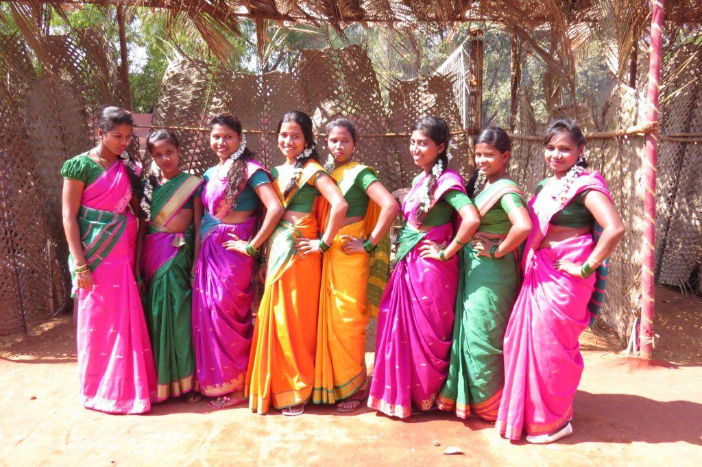 saree tying competition