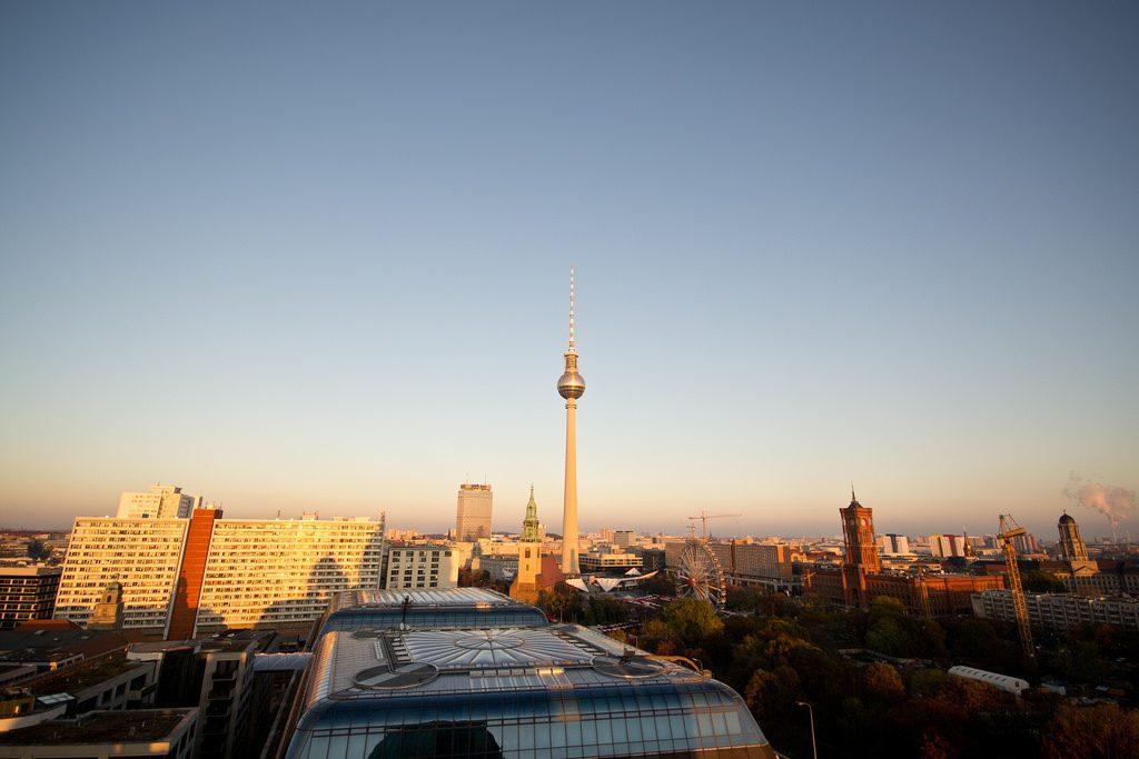 Overlooking Berlin - Adelina Wong