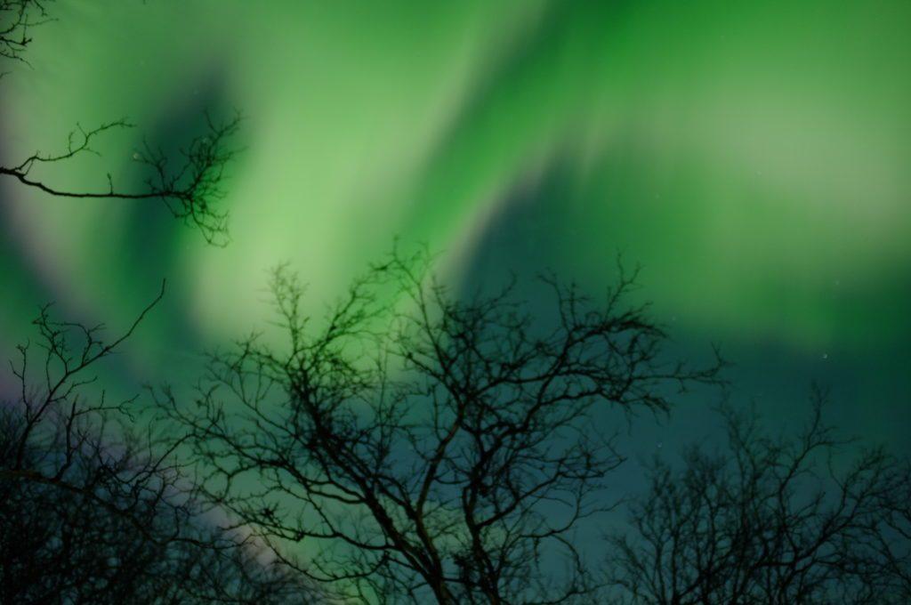 northern lights in stockholm sweden