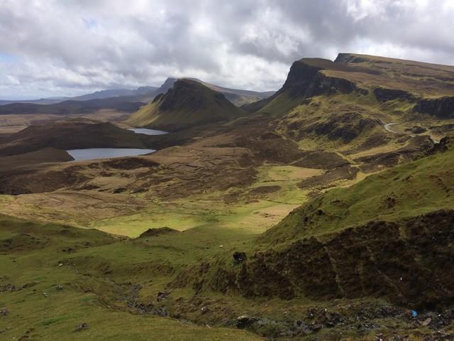 The Quirang isle of skye