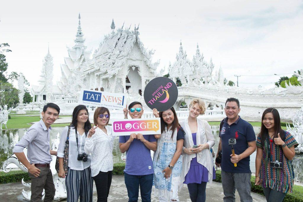 With the amazing bloggers and tourism reps during a press trip to North Thailand