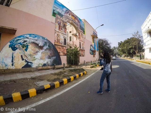 delhi art street