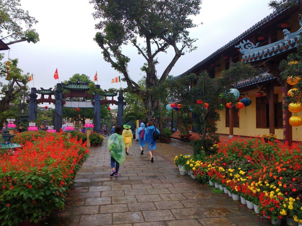 colorful rainjackets hoi an
