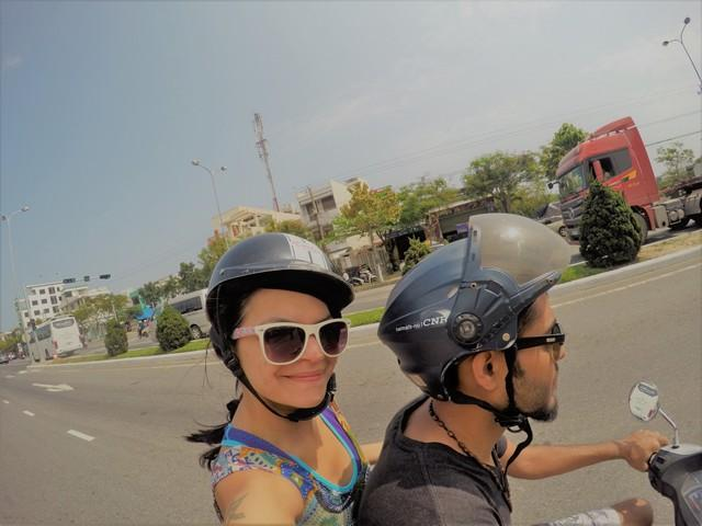 bike ride from Danang to Hoi An
