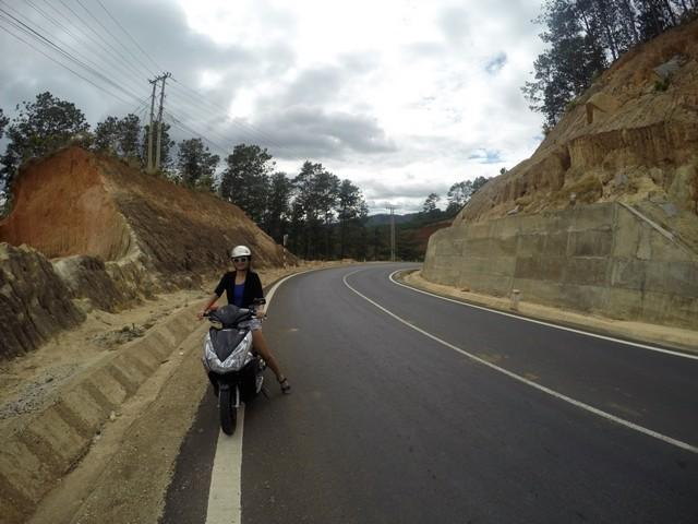 riding in dalat