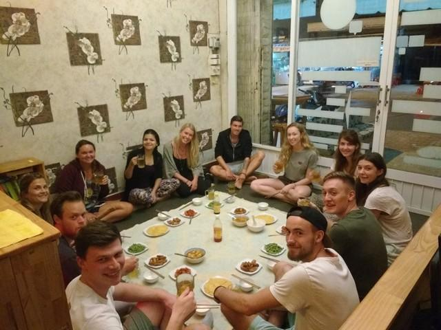family dinner in dalat