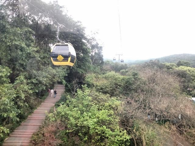 Cableway to Baiyun