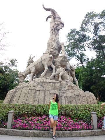 five rams statue guangzhou