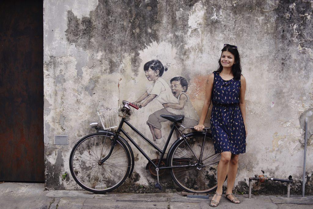 Cycle street art