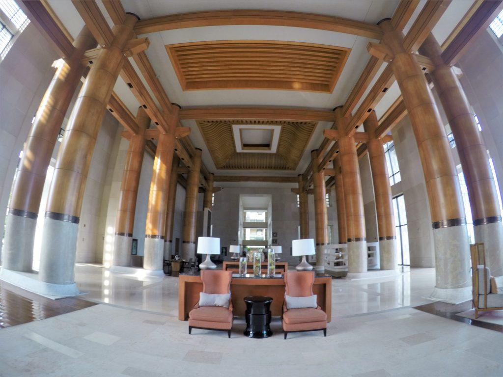 lobby at renaissance hotel
