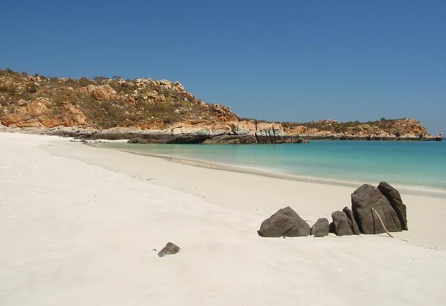 Kimberley coast - Hidden Island - Silica Beach