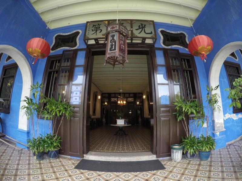 resorted Cheong Fatt Tze mansion