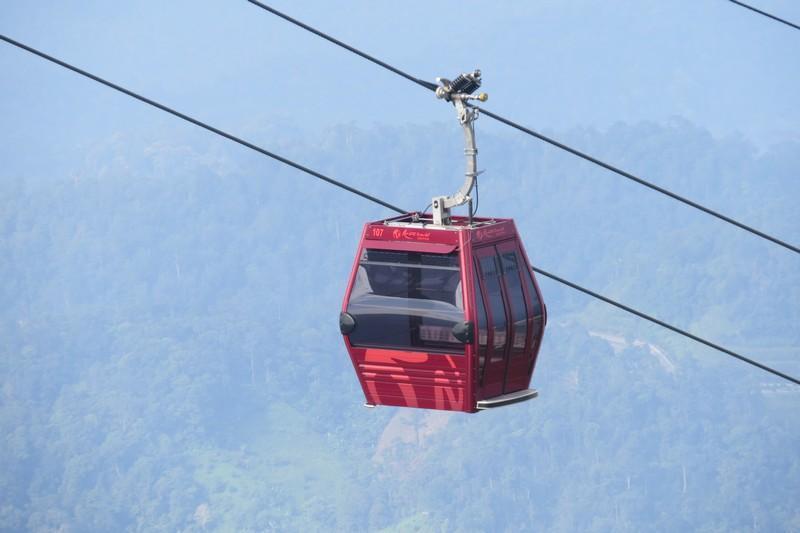 Cable car at Awana Skyway