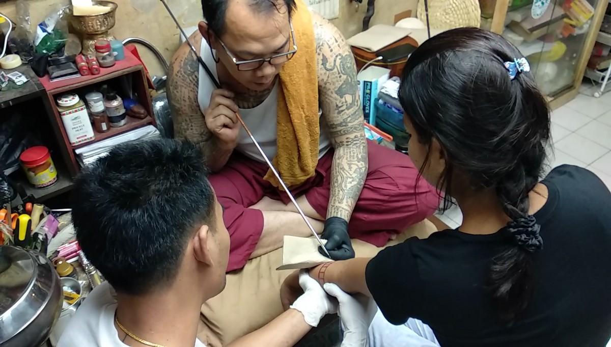 My Holy Ink! Getting a Sak Yant Tattoo in Bangkok
