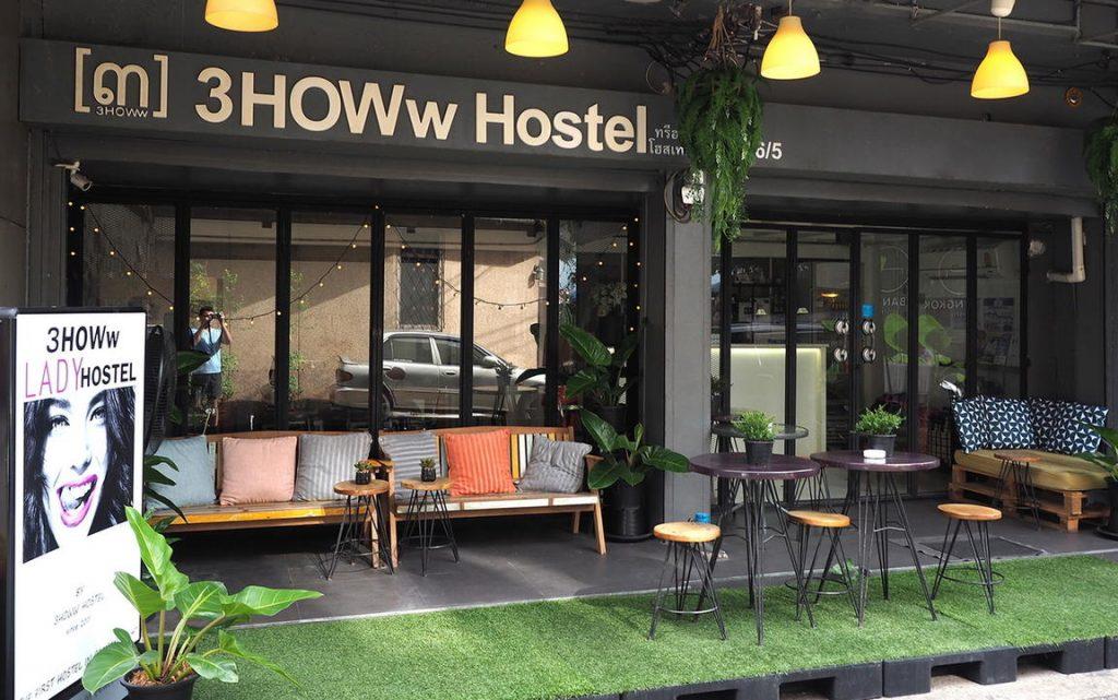 3howw hostel khaosan road