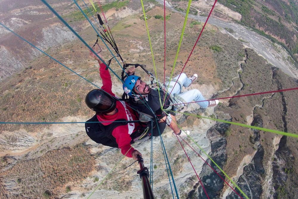 Mexico paragliding